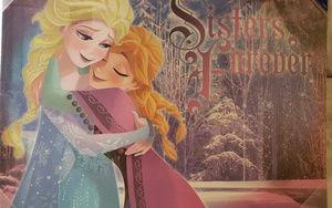 "Disney Wall Art - Disney print  ""Sisters Forever """